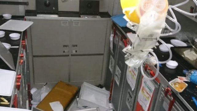 Una intensa turbulencia dejó 15 heridos en Aerolíneas Argentinas
