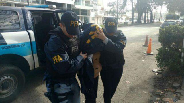 El procedimiento lo hizo la sección Drogas de la Policía Federal.