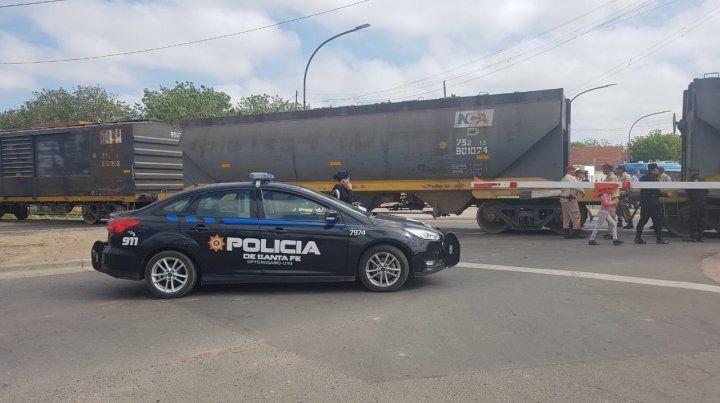 Falleció la mujer que fue atropellada por un tren esta mañana en barrio Acindar