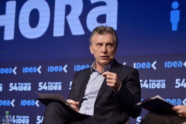 Macri afirmó que el populismo es muy tentador, pero es como una borrachera