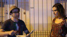 El director y su musa. Walter Becker dialoga con María Abadi, que encabeza el elenco junto a Matías Mayer.