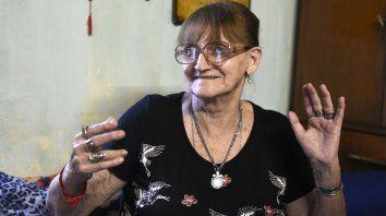 Ana Weppler. Tiene 30 nietos, 25 bisnietos y dos tataranietos.