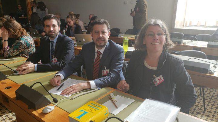 Los investigadores de Medicina de la UNR expusieron ante el Comité de Derechos de Naciones Unidas.