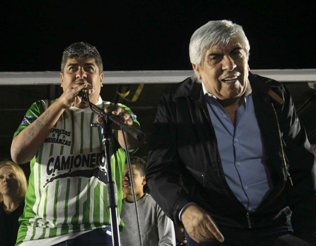 Juntos son más. Pablo y Hugo Moyano