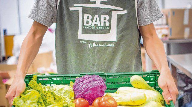 Solidaridad. El Banco de Alimentos de Rosario es una asociación civil  sin fines de lucro que recupera alimentos que no pueden ser  comercializado.