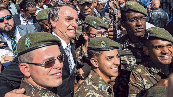 Amigos. Bolsonaro