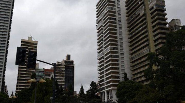 Alerta a corto plazo por tormentas fuertes en Rosario