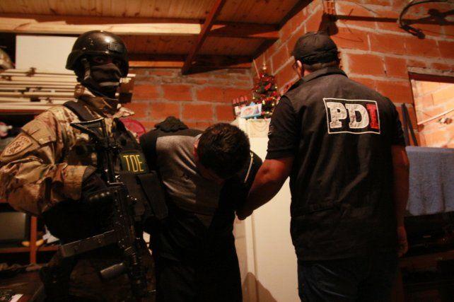Siete detenidos y un arsenal incautado por el secuestro de un empresario