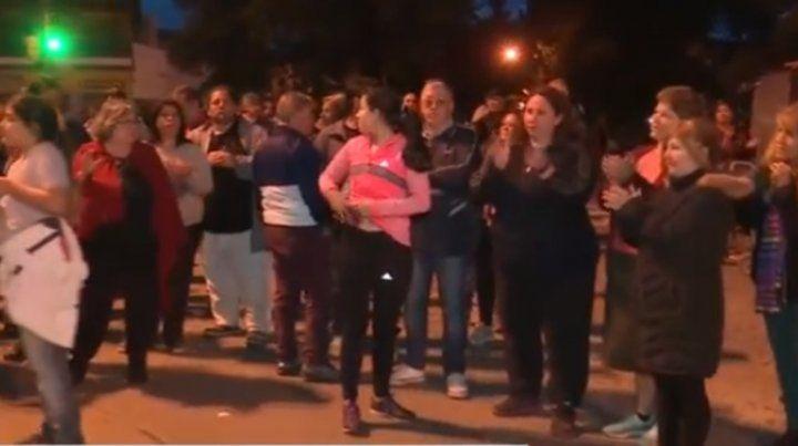 Vecinos de Parque Casas salieron a pedir más seguridad