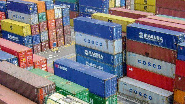Comercio. Las importaciones se derrumbaron por la recesión.
