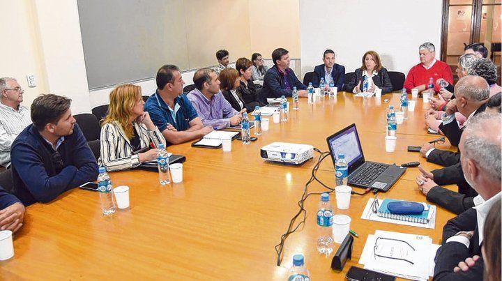 Referentes de la región. La reunión se llevó a cabo en el Centro de Innovación y Desarrollo Local (Cidel)
