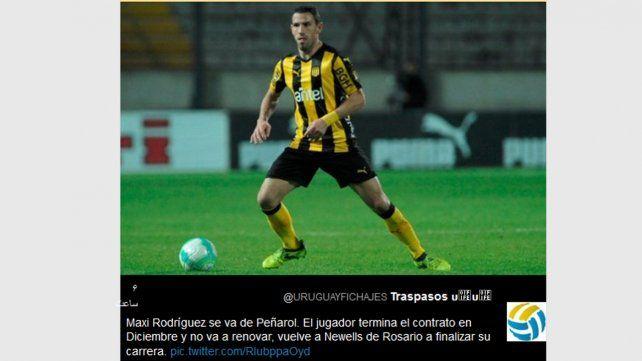Maxi Rodríguez y la chance del retorno a Newells