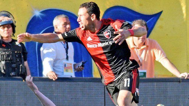 Ayer Maxi recordó el gol que convirtió hace dos años en Arroyito y le dio el triunfo a la Lepra.