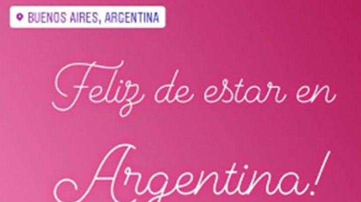 Cómo fue la calurosa bienvenida a Shakira al llegar a Argentina