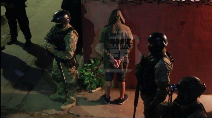 Un video muestra el megaoperativo policial por dentro