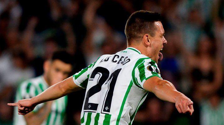Gio Lo Celso hizo un golazo en la victoria de Betis sobre Milan