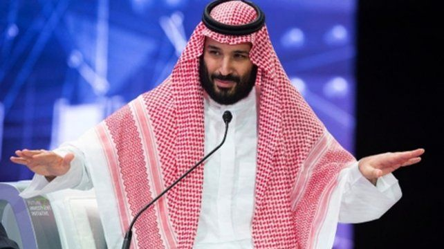Poderoso. El príncipe saudita Mohammed ben Salman.
