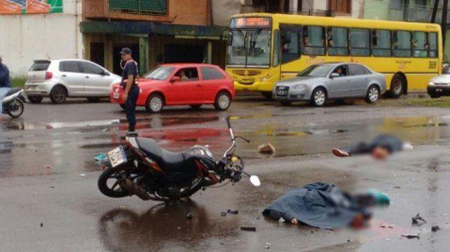 Víctimas. Un accidente en una ciudad del norte del país