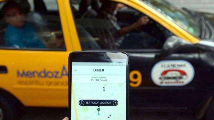 Uber ya opera en Mendoza
