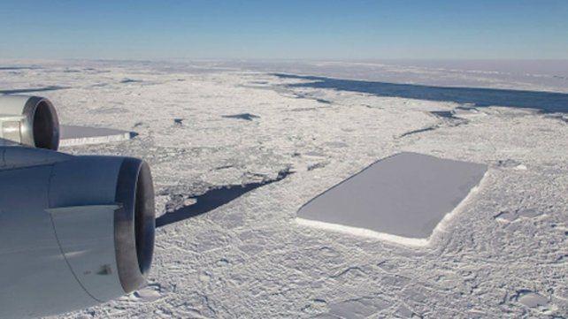 Otro iceberg rectangular