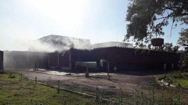 Siniestro. Las autoridades investigan si el fuego fue intencional.