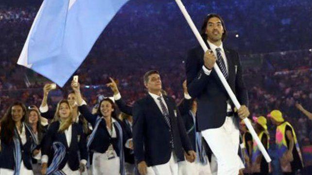 Otras épocas. La delegación argentina en los Juegos Olímpicos de Río 2016 cuando el deporte aún vivía clima de fiesta.