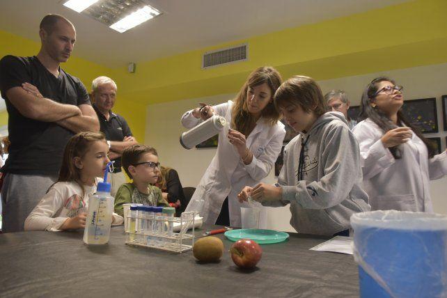 Los científicos del IBR abrieron las puertas del saber a los rosarinos y convocaron a 600 personas