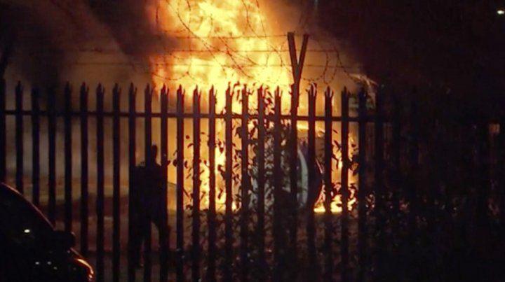 Un video muestra cómo cayó el helicóptero del dueño del Leicester