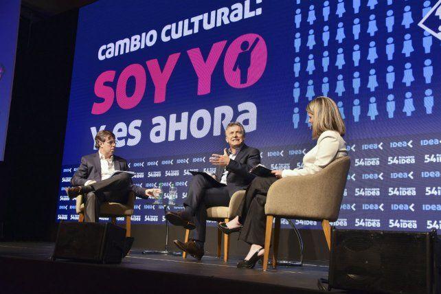 Sin cambio. La conducción de Idea mostró una fuerte identificación política con el presidente Macri