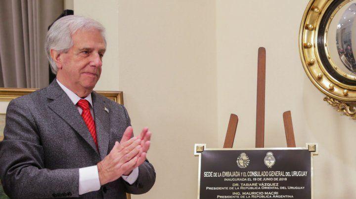 Médico. El presidente de Uruguay