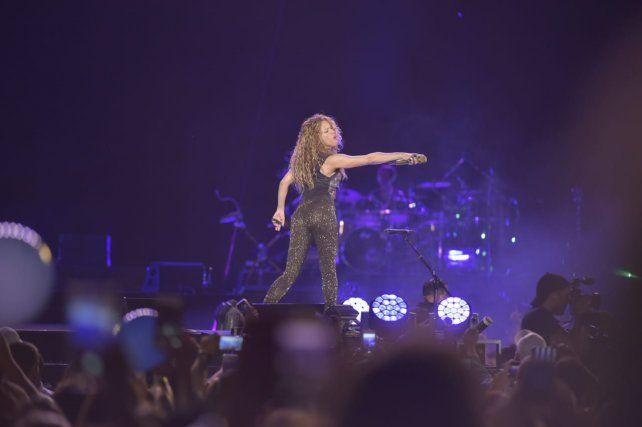 Shakira hizo delirar a un Gigante colmado