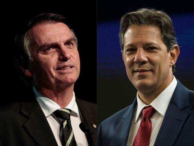 Ballottage. El capitán de marina retirado es favorito de ganar la presidencia frente al candidato del PT.