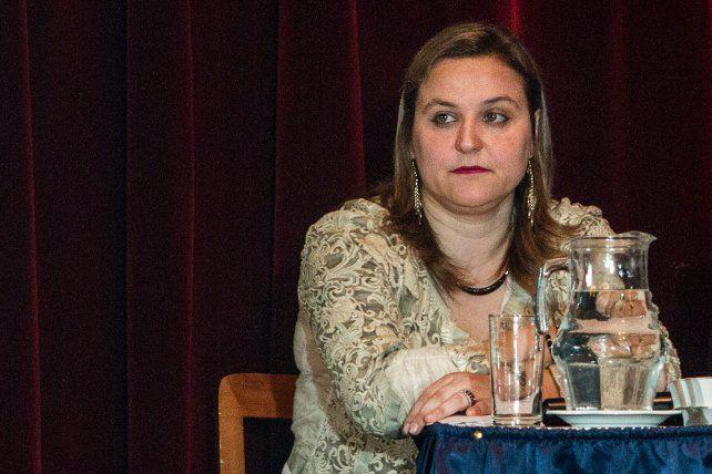 Jueza. Silvia Castelli dictó la sentencia contra Marcelo Chuky Alvarado.