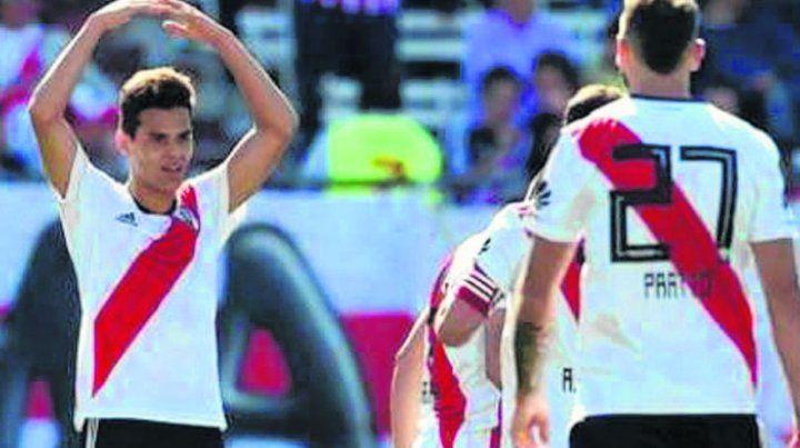 Gol y victoria. Ferreira clavó un golazo para darle la victoria al millonario.