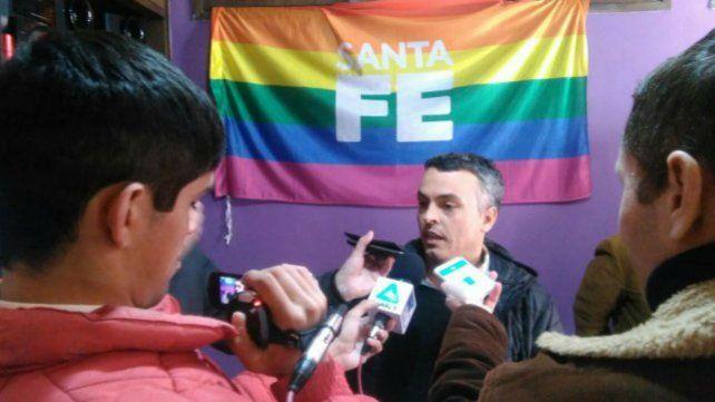 El subsecretario de Política de Diversidad Sexual de Santa Fe