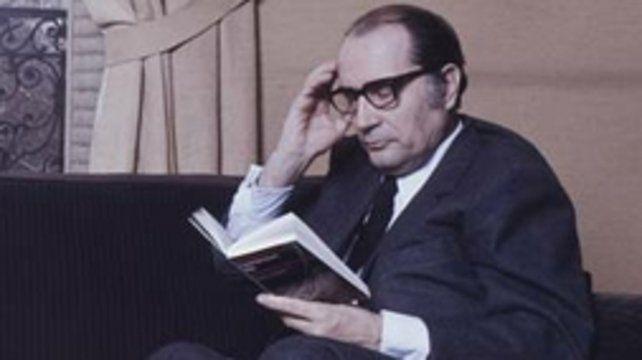 François Miterrand. El ex presidente era un bibliófilo