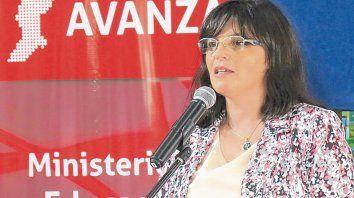 Stella Lapelle, delegada de la Región VII del Ministerio de Educación provincial resaltó las clases de ESI.