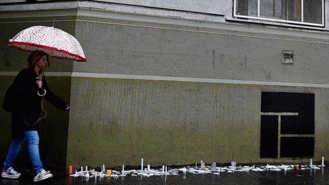 El lugar del acto. El año pasado allí recordaron a las víctimas.