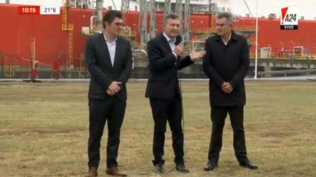 Macri: Argentina será uno de los principales exportadores de gas y petróleo