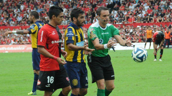 Loustau será el árbitro del clásico rosarino por Copa Argentina