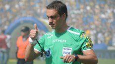 loustau sera el arbitro del clasico rosarino por copa argentina