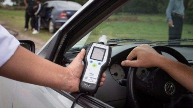 Alcoholemia. Los operativos para detectar conductores alcoholizados se multiplicaron por toda la ciudad.