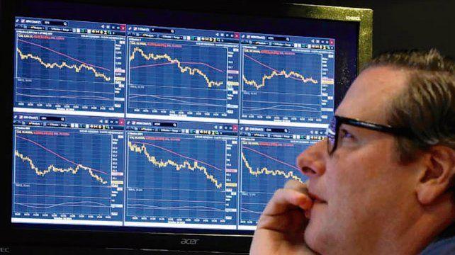 Wall Street. Los inversores tuvieron un mes de octubre complicado.