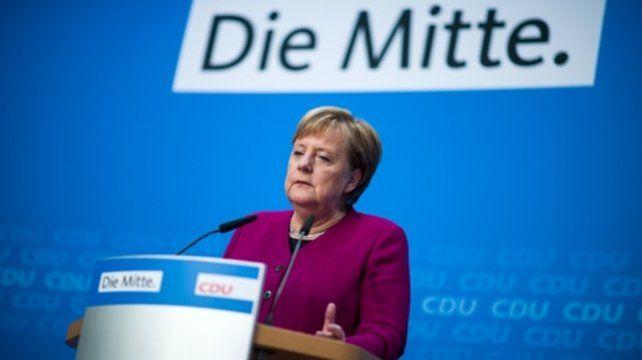 No voy a presentar mi candidatura a la presidencia de la CDU y en  segundo lugar