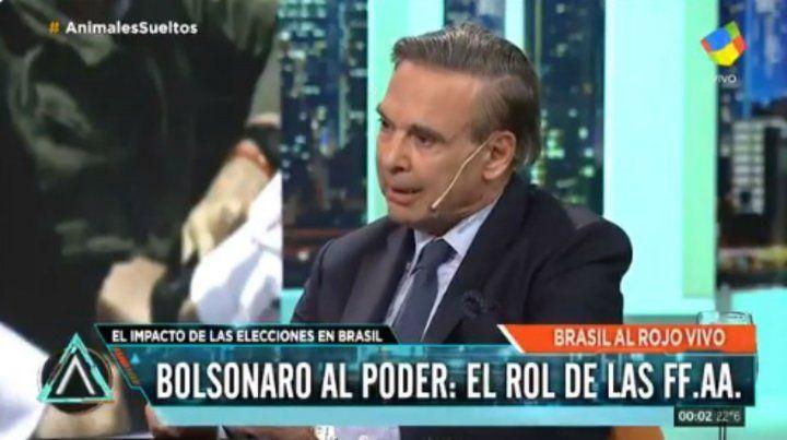 Pichetto: Argentina tiene que mirar al futuro y reconstruir las fuerzas armadas