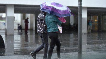 alerta meteorologico a corto plazo para rosario y la region por tormentas fuertes