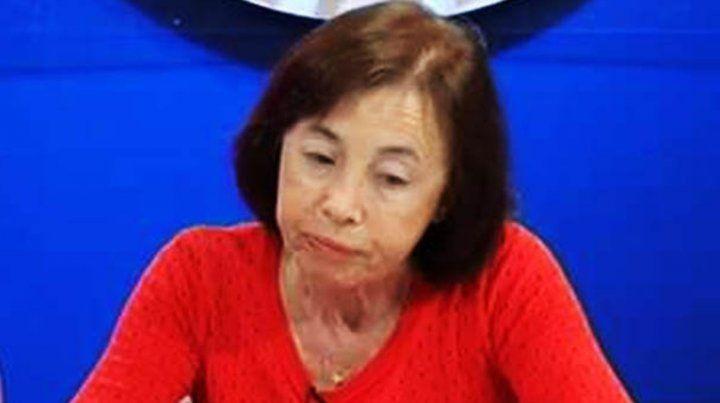 La pediatra y terapeuta familiar rosarina Mirta Guelman