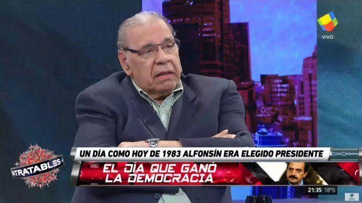 Enrique Pinti: Tenemos una especie de amor por los delincuentes y así nos va