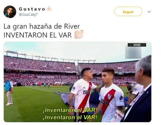 Los festejos de River, los memes y el VAR que dio vuelta la historia