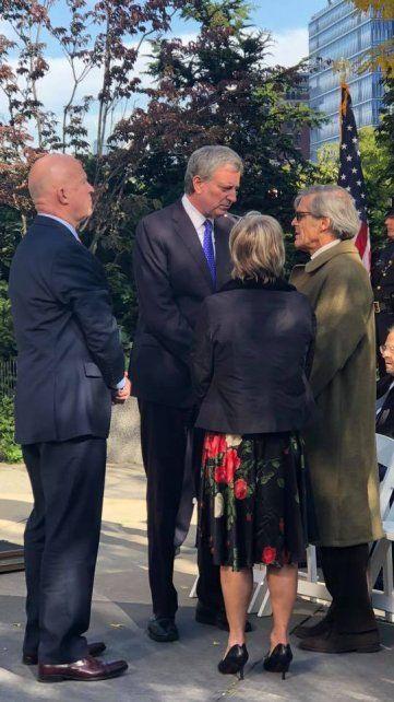 Tributo a las víctimas rosarinas del atentado en Nueva York